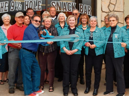 Cree Meadows Country Club held a ribbon cutting Thursday for their newest addition to the facility, The 9   Hole Snack Bar and Saloon.