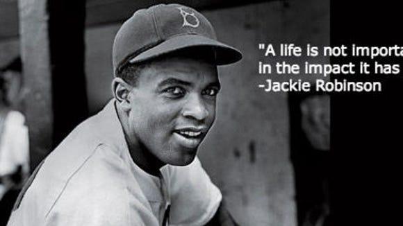 On April 15, 1947, Jackie Robinson broke the color barrier in Major League Baseball.