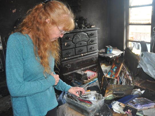 Cindy Buehl is salvaging family mementos she finds