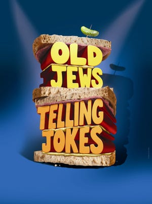 """Old Jews Telling Jokes"" employs an ensemble of five actors to deliver a cascade of jokes that the writers gleaned from multiple sources, including their own memories."