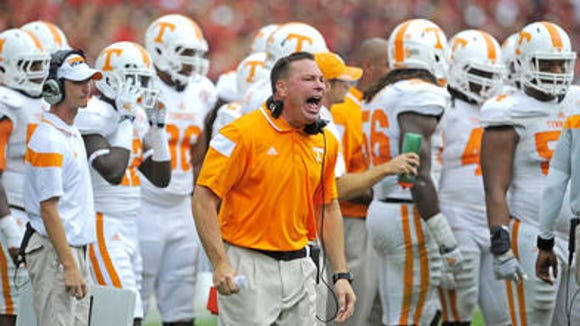 Butch Jones will be visiting Nashville to recruit over