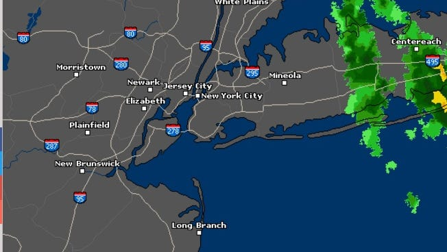 The storm moved out of the Lower Hudson Valley quicker than originally expected.
