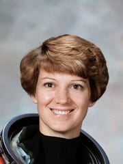 Elmira native Eileen Collins, a retired NASA astronaut and retired U.S. Air Force colonel. A former military instructor and test pilot, she as the first female pilot and first female commander of a space shuttle.