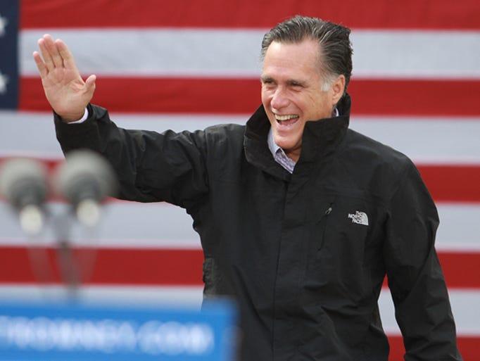 2012 – Mitt Romney (R) - lost