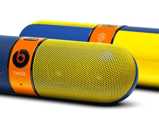 The Beats Pill packs a lot of power in a small package.