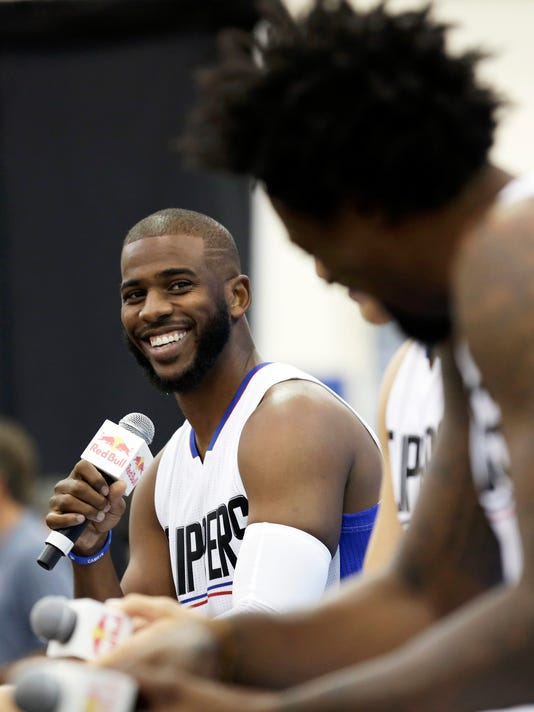 Healthy Chris Paul, Blake Griffin ready to make title run
