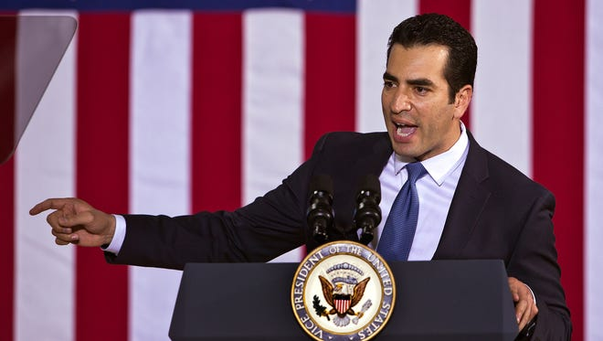 Nevada Democrats Ruben Kihuen won election to the U.S. Congress last November, unseating Republican incumbent Cresent Hardy.