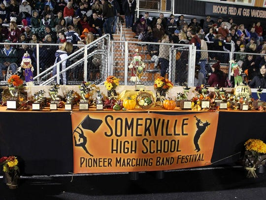 Somerville High School to host the 37th annual marching
