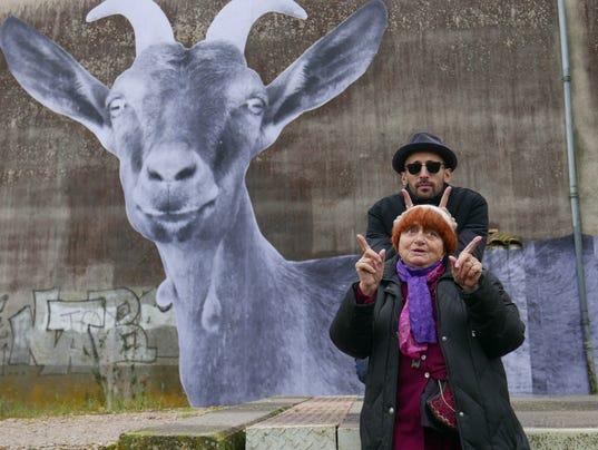 Agnes Varda and JR