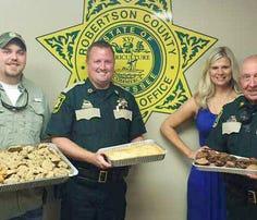 Ducks Unlimited shows appreciation for Robertson law enforcement