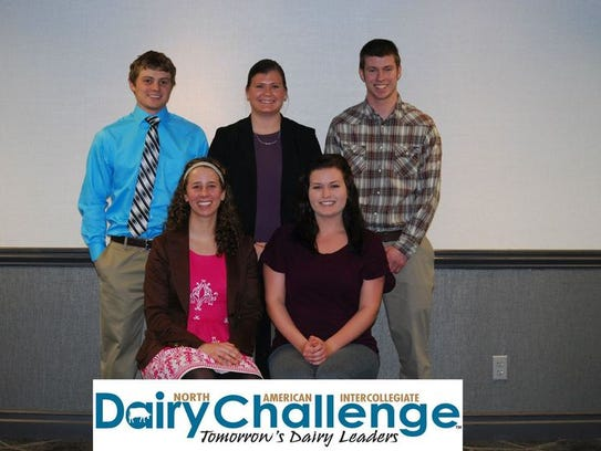 Team 16 captured first place on Ballweg Dairies. Seated