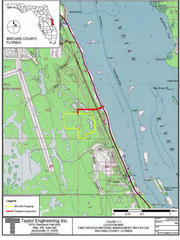 The Florida Inland Navigation District has applied for a federal permit to create a 65-acre dredge spoil management area in Grant-Valkaria.
