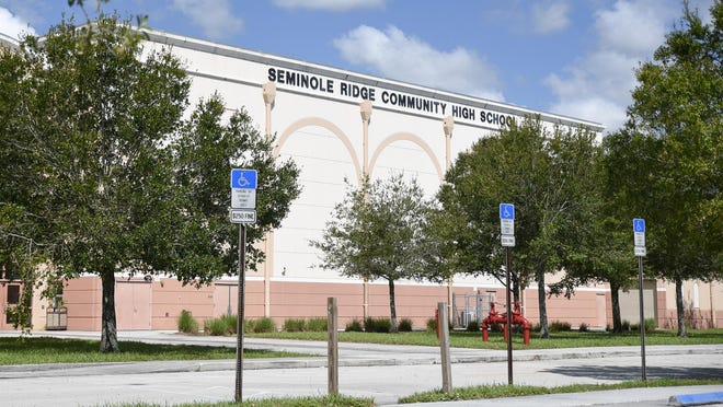 Seminole Ridge High School in Loxahatchee.