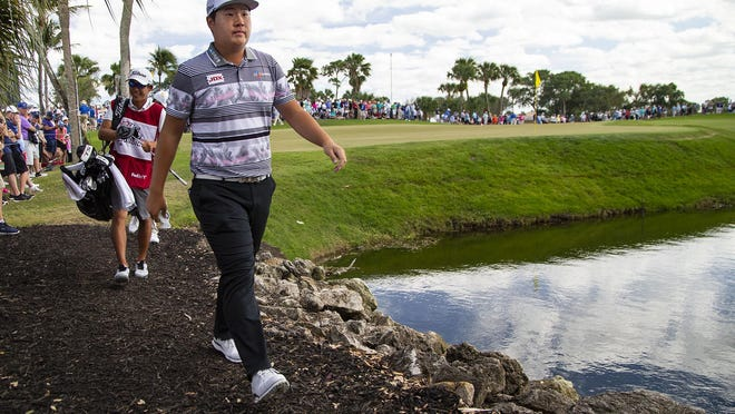 Sungjae Im approaches the 7th hole during the final round of the Honda Classic at PGA National in Palm Beach Gardens, March 1, 2020.
