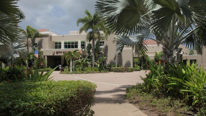 The city council voted unanimously to set Palm Beach Gardens' tentative operating tax rate at $5.55 for every $1,000 of assessed value, which is the same rate as last year.