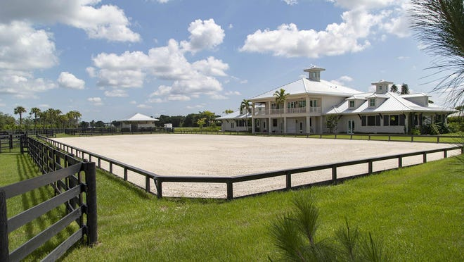 This home with stables was originally listed at $4.5 million in Winding Trails, a gated equestrian community in Wellington, July 15, 2020.