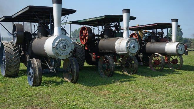 Antique steam engines are the highlight of the Holmes County Steam Engine Association event.