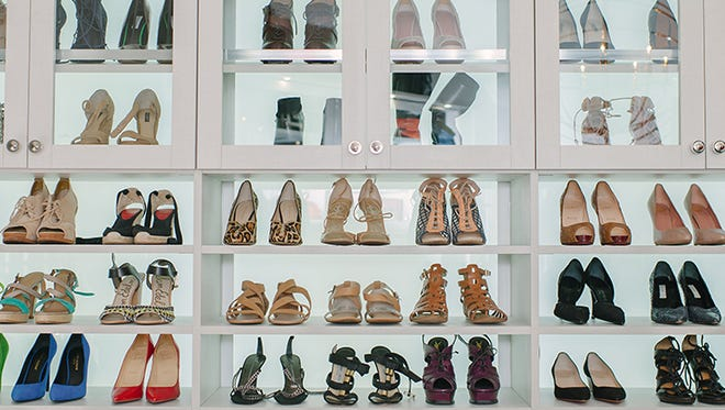 California Closets helps us step up our shoe storage.