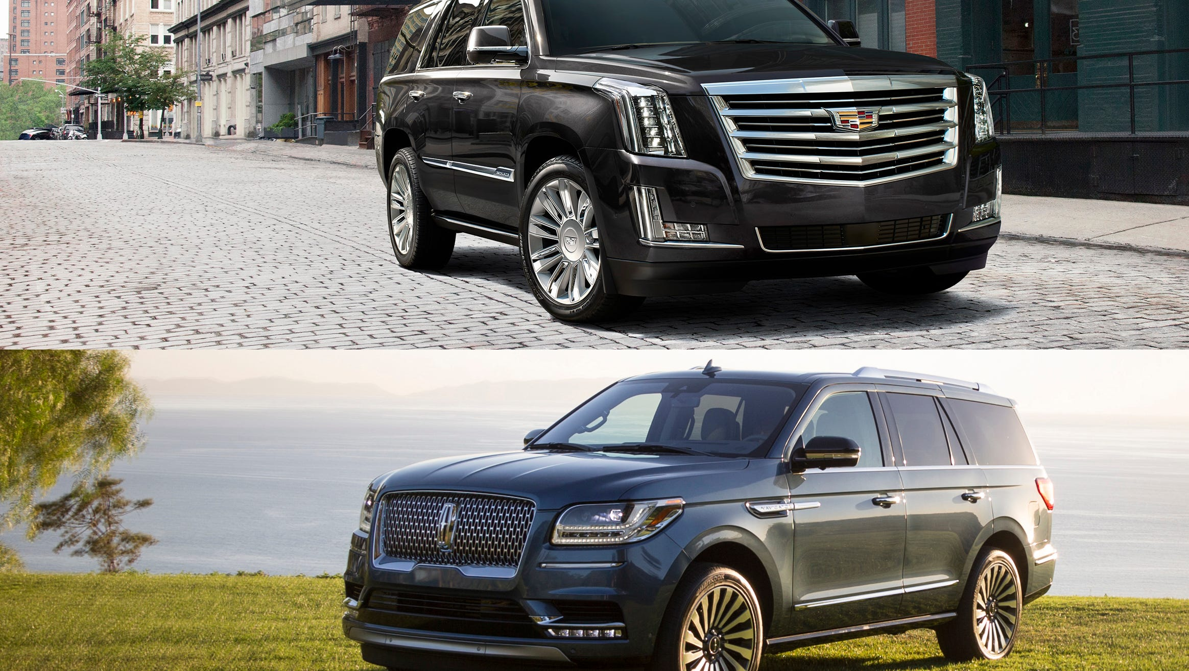 Lincoln Vs Cadillac >> Which Is Better Lincoln Navigator And Cadillac Escalade