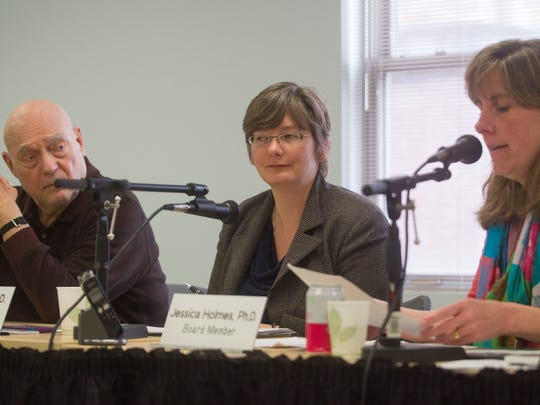 Members of the Green Mountain Care Board, from left,