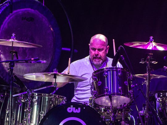Jason Bonham, son of Led Zepplin drummer John Bonham,