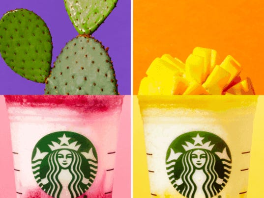 Color of Summer Starbucks
