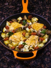 Robin Miller has come up with four skillet dinners