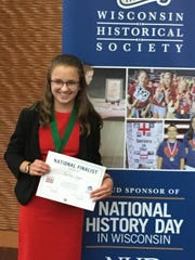 Bailey Joyce was chosen to move on to the national