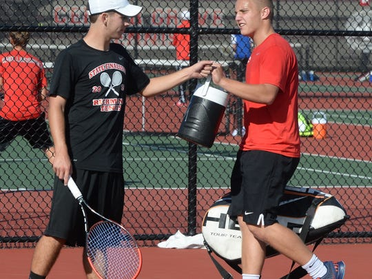 Richmond fell to North Central 4-1 in the IHSAA boys