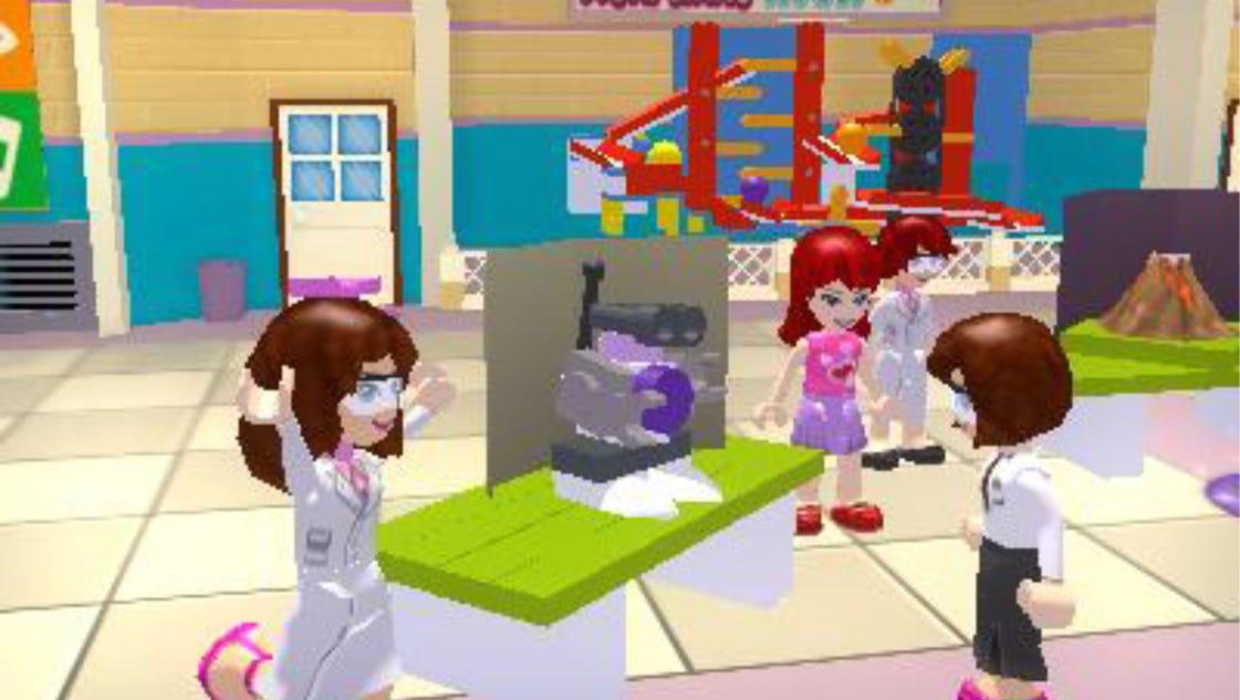 new lego game focuses on girl friendships. Black Bedroom Furniture Sets. Home Design Ideas