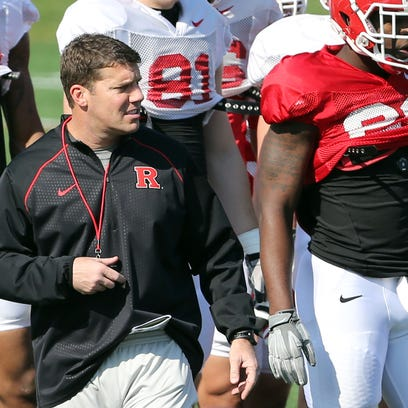Rutgers coach Chris Ash used the Scarlet-White spring