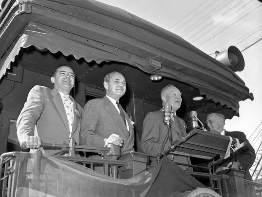 Dwight D. Eisenhower and Joseph McCarthy