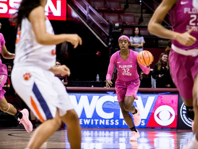 Redshirt senior guard Imani Wright (32) had a great