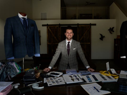 Stephen Richards' shop, Richards Bespoke, a men's custom