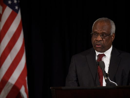 Clarence Thomas 25 years
