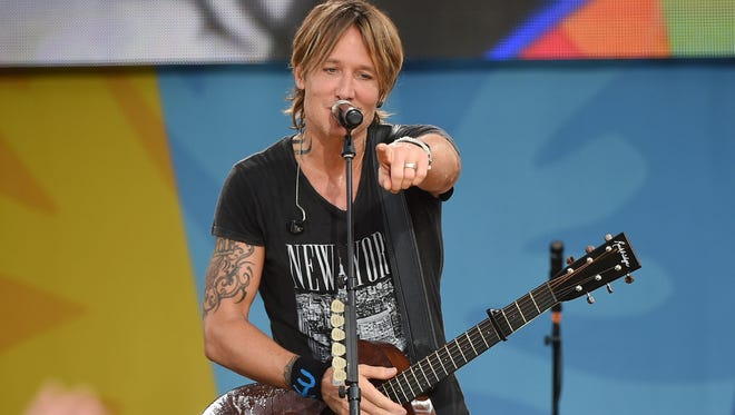 """Keith Urban performs on ABC's """"Good Morning America"""" at SummerStage at Rumsey Playfield in Central Park on Aug. 12, 2016, in New York City."""