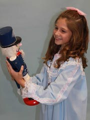 """Chaley Cartwright stars at Clara in """"Nutcracker Ballet and Christmas Spectacular."""""""