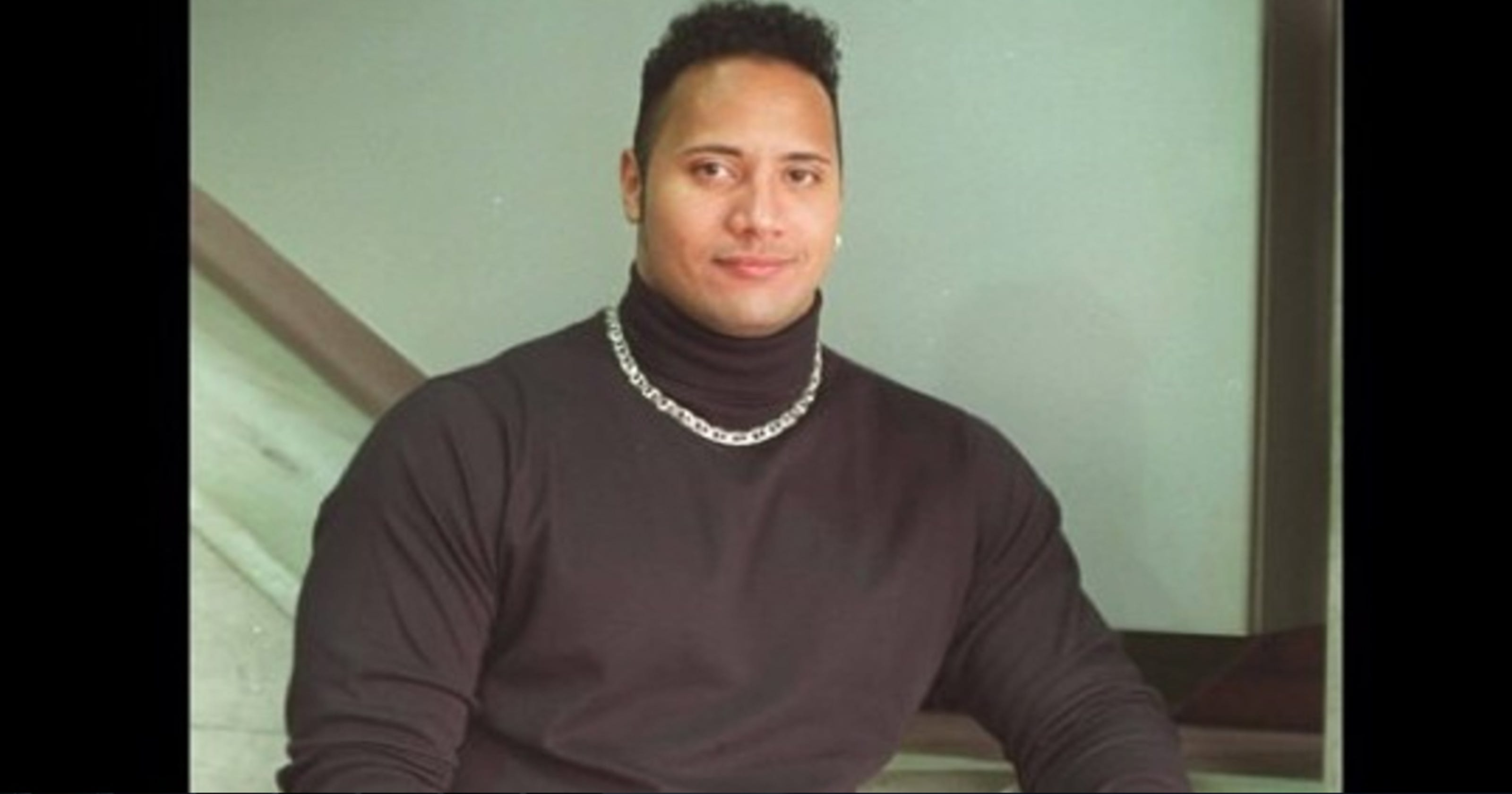 Dwayne Johnson Recreated Throwback Fannypack Shot