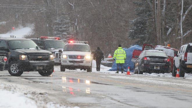 A man was killed on Route 31 in Sweden after he lost control while heading west and hit an oncoming pickup.