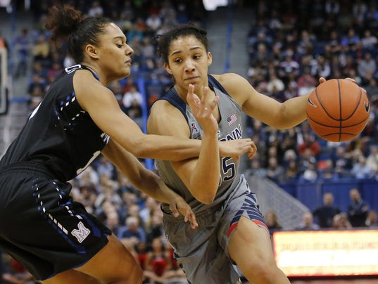 NCAA Womens Basketball: Memphis at Connecticut
