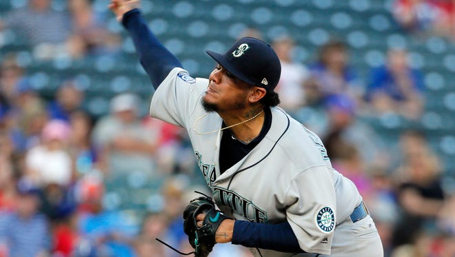 The Seattle Mariners placed Felix Hernandez on the disabled list Saturday.