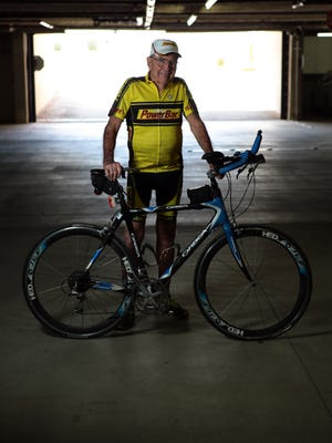 Triathlete Bill Bell, a 92-year-old from Palm Desert, cycles multiple times a week and rides for about 20 miles. Bell was a marathoner who transitioned to multisport competitions.