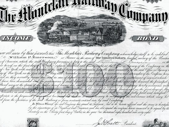 1868: Bloomfield won't take on debt to build a second