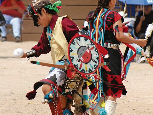 The public is invited to observe Mescalero Apache dances. Admission to the ceremonial grounds is 5 for adults and 3 for children.