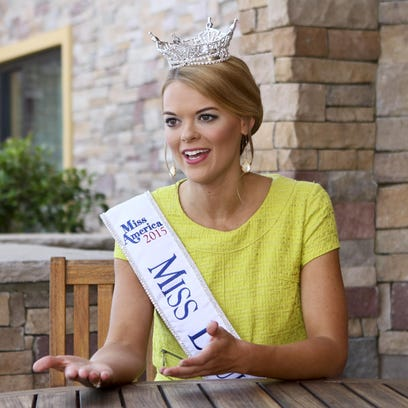 Miss Louisiana 2015 April Nelson shares her excitement