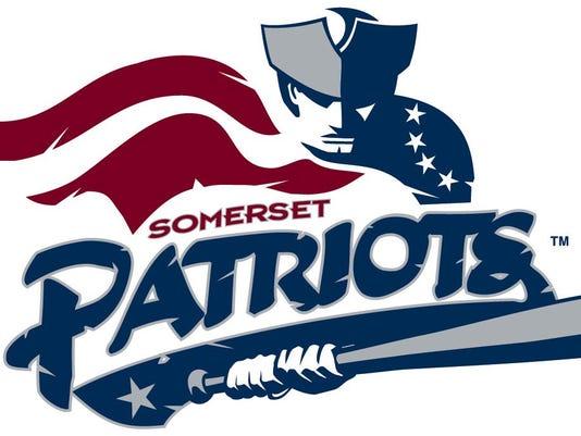 webart sports Somerset Patriots baseball logo