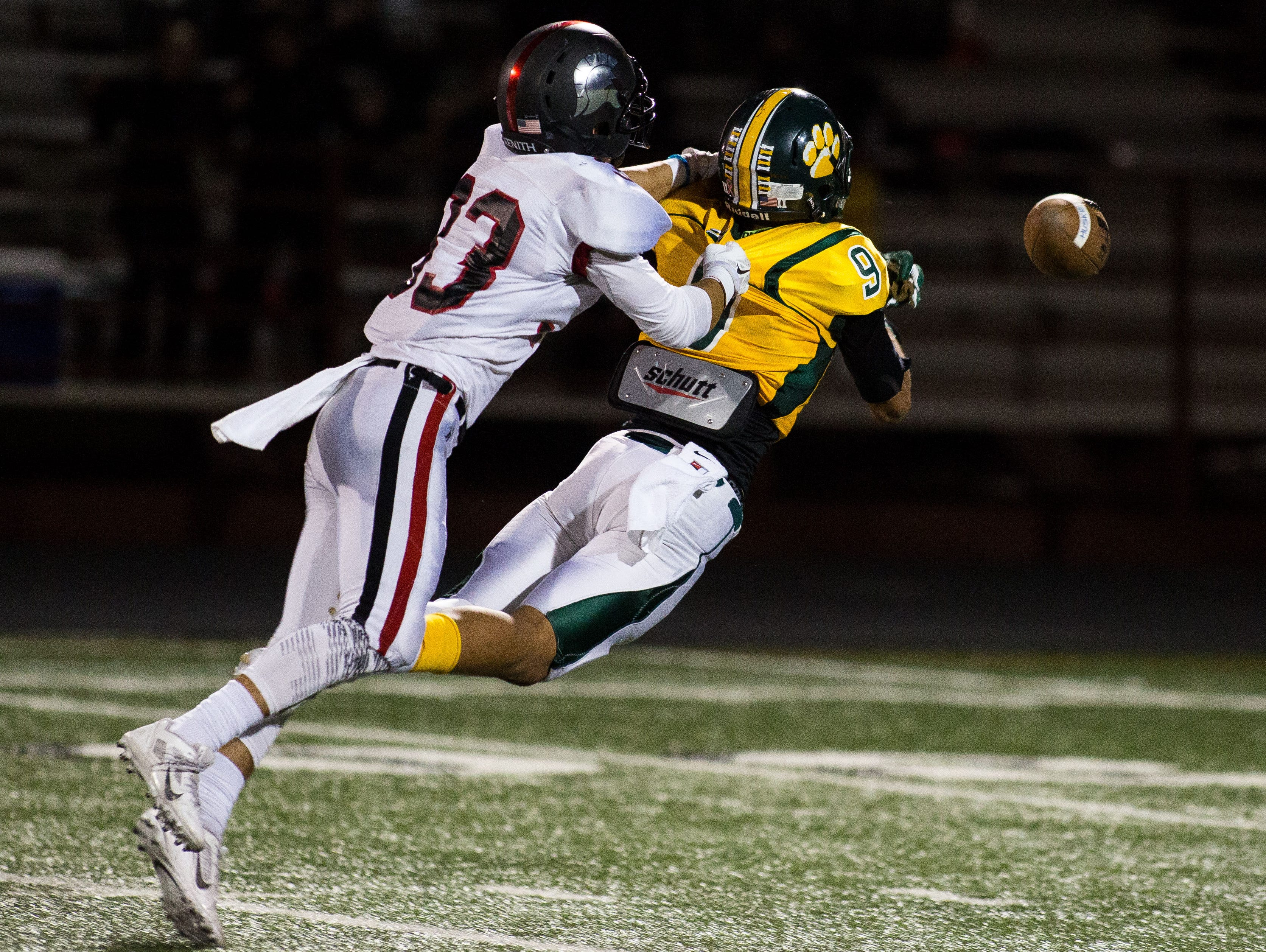 No. 6 Julian Carter, Saguaro, 6-3, 190, Sr. | He showed signs last season at Horizon that he was a special playmaker with his ability to extend plays after catches. Some believe he might be a bigger version of Byron Murphy. He'll have a chance to show what he can do with talented quarterback Kare' Lyles back.