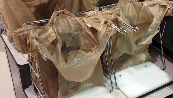 Too many people waste plastic bags. But they have legitimate