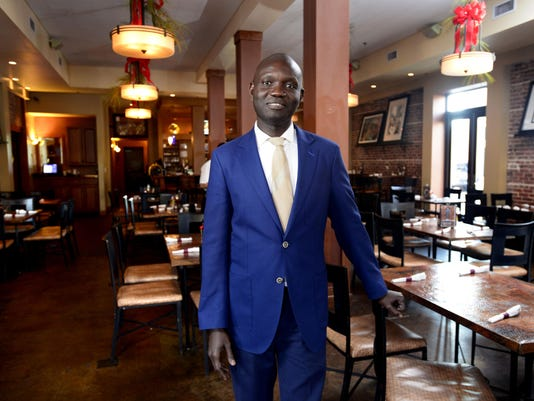 Jean Pierre N'Dione broadens horizens as co-owner of Five Sisters Blues Cafe