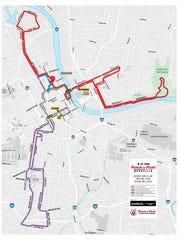 Nashville marathon course